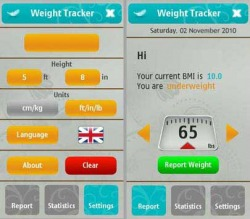 BLStream Weight Tracker