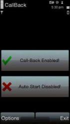 CallBack Free Symbian Mobile Phone Application