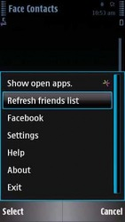Face Contacts Symbian Mobile Phone Application