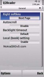 Q2Reader Symbian Mobile Phone Application