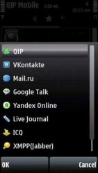 QIP Mobile Symbian Mobile Phone Application