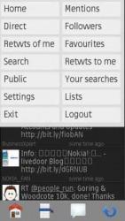 TwimGo Widget Symbian Mobile Phone Application