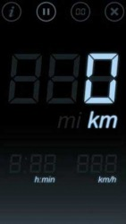 Distance Tracker Touch Symbian Mobile Phone Application