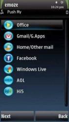 Emoze Mobile Messaging Application Symbian Mobile Phone Application