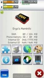 Ergos MemInfo Symbian Mobile Phone Application