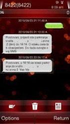 ET sms SPRITE Symbian Mobile Phone Application