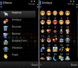 FunSMS Java Mobile Phone Application