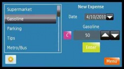 My Expense Symbian Mobile Phone Application