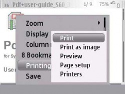 Download Free Symbian Application mBrain PDF Reader - 204