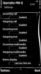 SkyeCaller PRO II v2.02 Symbian Mobile Phone Application