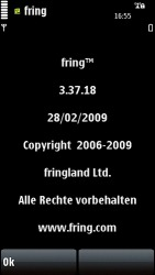 Fring Symbian Mobile Phone Application