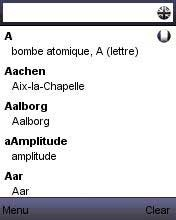 Download Free Java Application Dictionary FRENCH - ENGLISH