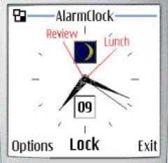 InfoTime Alarm Clock