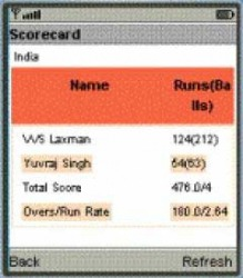 Download Free Java Application Live Cricket Scores - 497