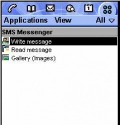SMS Messenger Java Mobile Phone Application