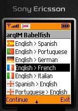 argIM Babelfish Translator