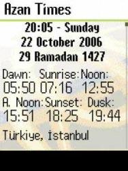 Azan Times