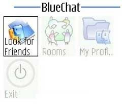 Blue Chat Java Mobile Phone Application