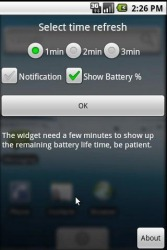 Battery Diff Widget