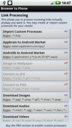 Browser to Phone Android Mobile Phone Application