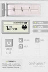 Cardiograph Android Mobile Phone Application