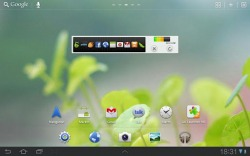 GO Launcher HD for Pad Android Mobile Phone Application