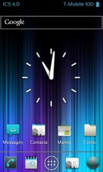 ICS Launcher Android Mobile Phone Application