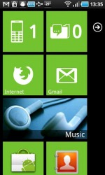 Launcher 7 Android Mobile Phone Application