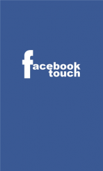 Facebook Touch Windows Mobile Phone Application