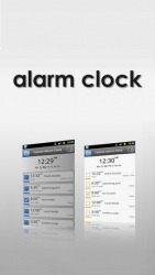 Alarm Clock Android Mobile Phone Application