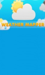 Weather Mapper Android Mobile Phone Application