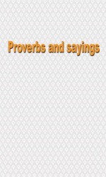 Proverbs And Sayings Android Mobile Phone Application
