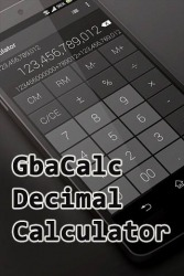 Gbacalc Decimal Calculator Android Mobile Phone Application