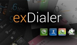 Ex Dialer Android Mobile Phone Application