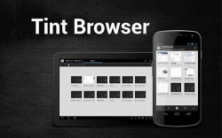 Tint Browser Android Mobile Phone Application
