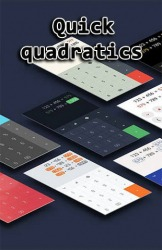 Quick Quadratics Android Mobile Phone Application