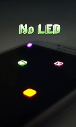 No LED Android Mobile Phone Application
