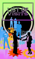 List Of Visits Android Mobile Phone Application