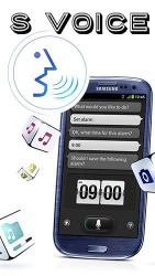 S Voice Android Mobile Phone Application