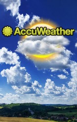Accu Weather Android Mobile Phone Application