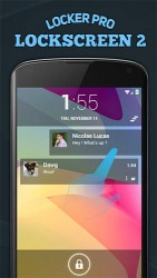 Locker Pro Lockscreen 2 Android Mobile Phone Application