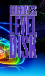 Brightness Level Disk Android Mobile Phone Application