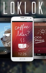 LokLok: Draw On A Lock Screen Android Mobile Phone Application