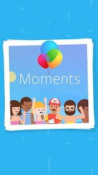 Moments Android Mobile Phone Application