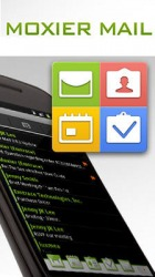 Moxier Mail Android Mobile Phone Application