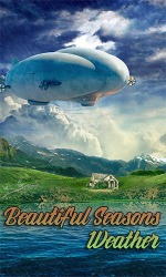 Beautiful Seasons Weather Android Mobile Phone Application