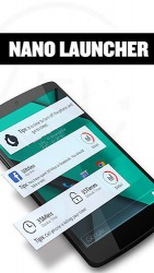 Nano Launcher Android Mobile Phone Application