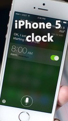 IPhone 5 Clock