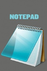 Notepad Android Mobile Phone Application