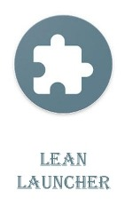 Lean Launcher Android Mobile Phone Application
